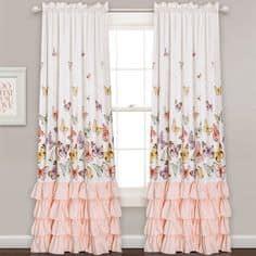 Girly window curtains