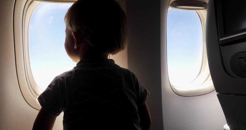 How to travel with young kids