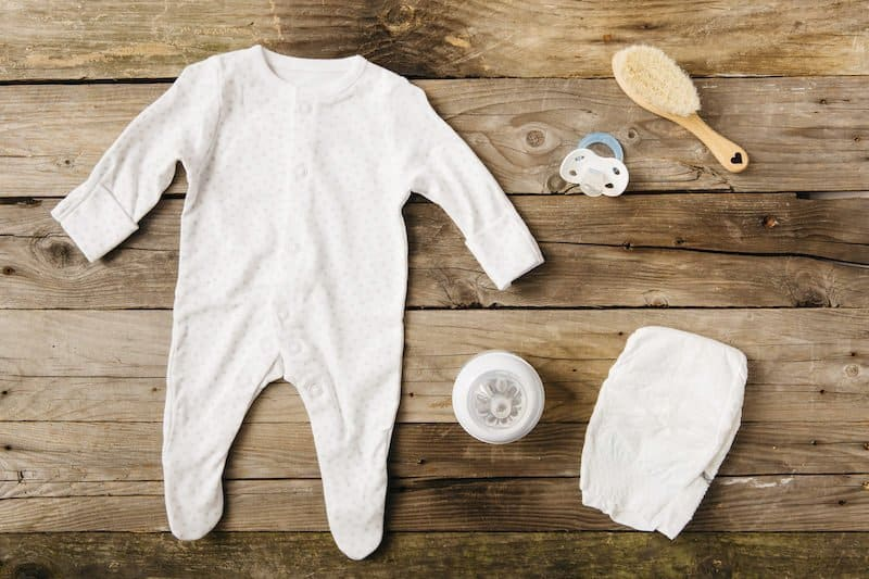Baby clothes for minimalists
