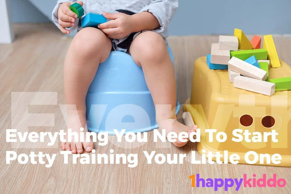 Potty Training 101 – Everything You Need To Start Potty Training Your Little One
