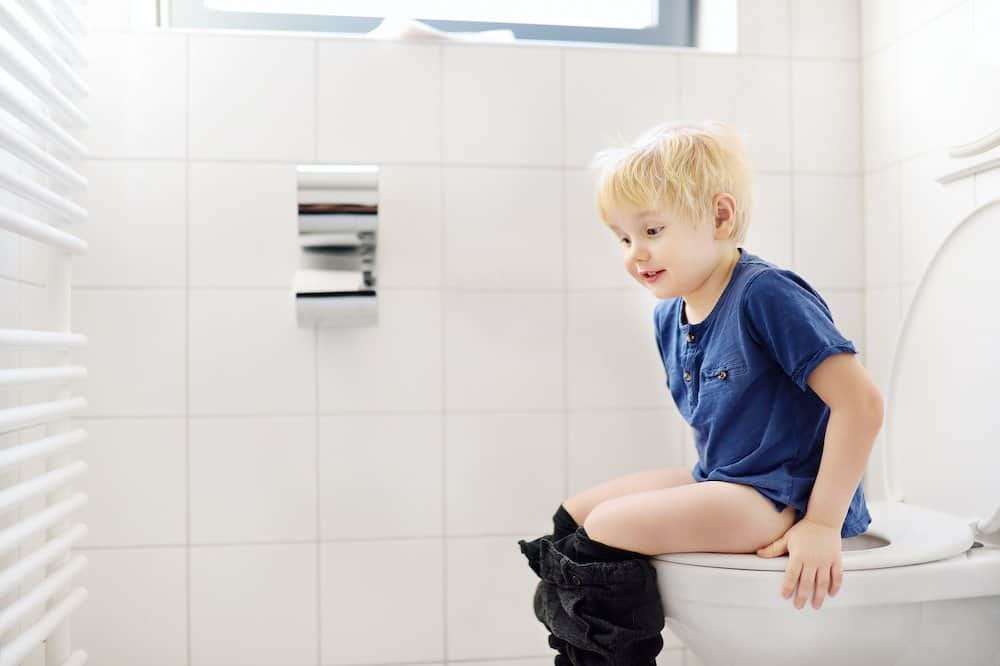Encouraging your child to ask to use the potty