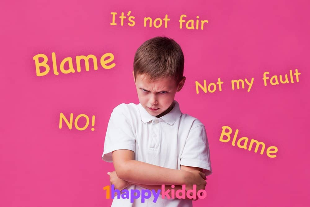 How to deal with kids who blame