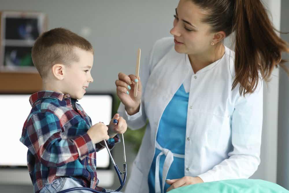 Child doctor visit