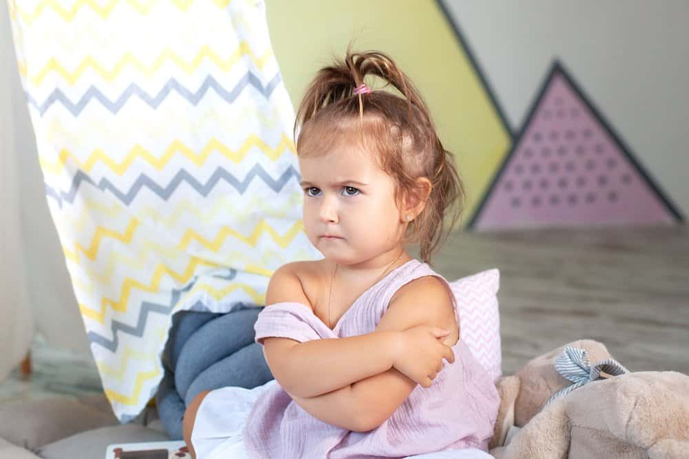 Don't give in to your toddlers tantrums
