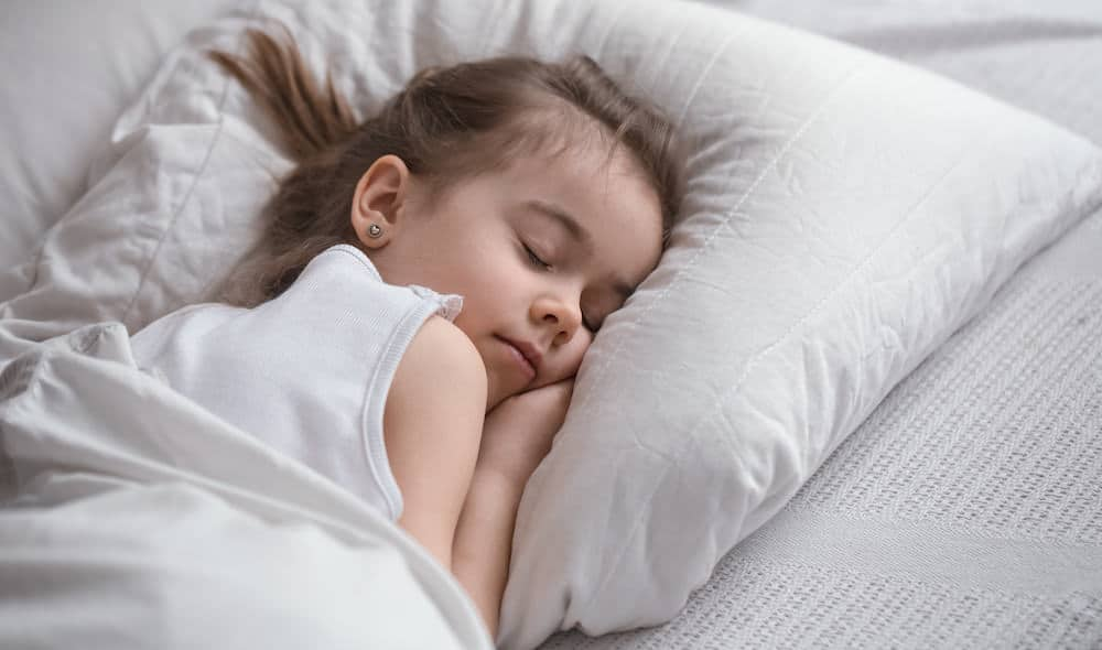 A well rested toddler will be one that throws less tantrums