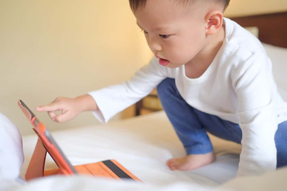 Reducing screen time for your two-year-old