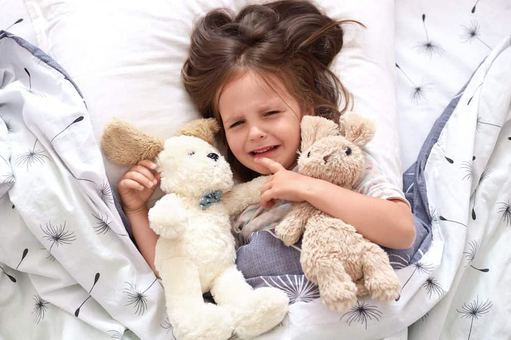 Details about toddler sleep regression around 2 years old