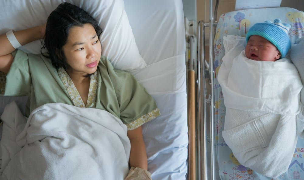 What to expect after a Cesarean delivery