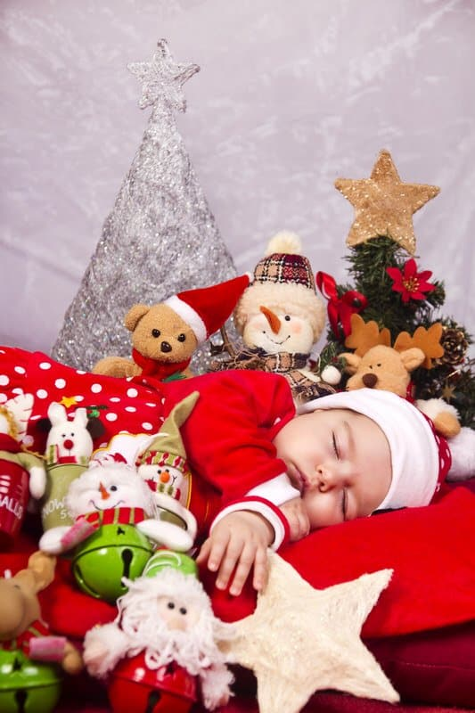 Christmas newborn baby outfits