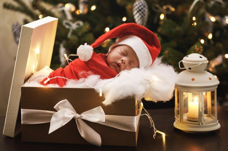 Christmas newborn dressing guidelines