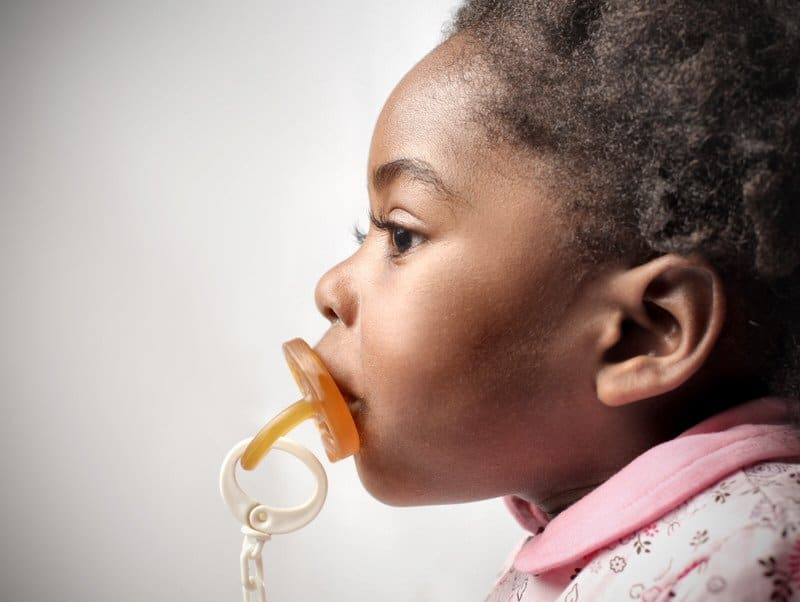 Dental effects of pacifier