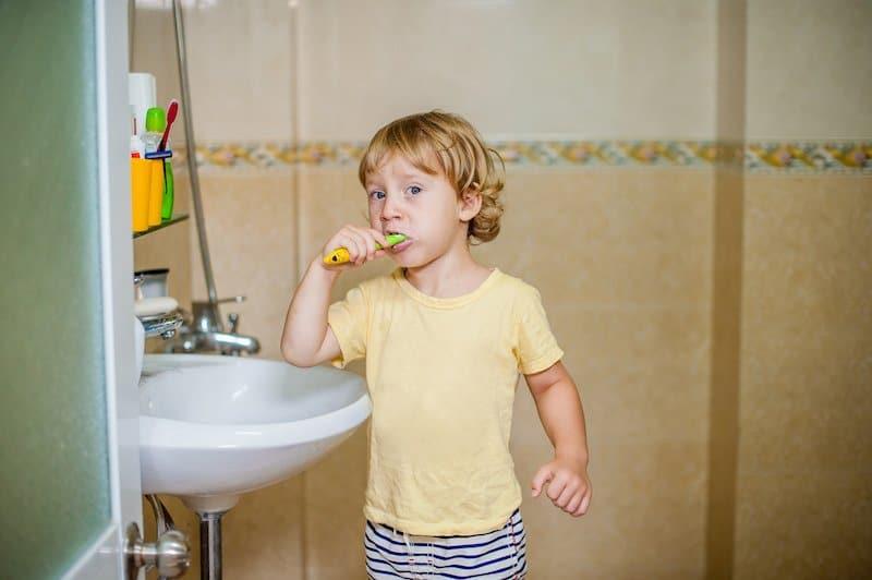 Good dental habits for toddlers