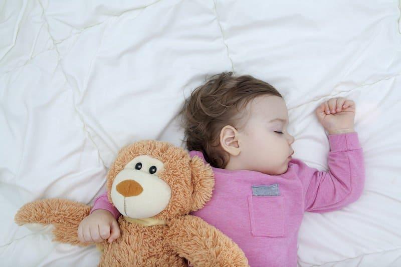 Infant sleeping schedule