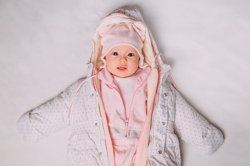 Newborn Christmas snowsuit ideas