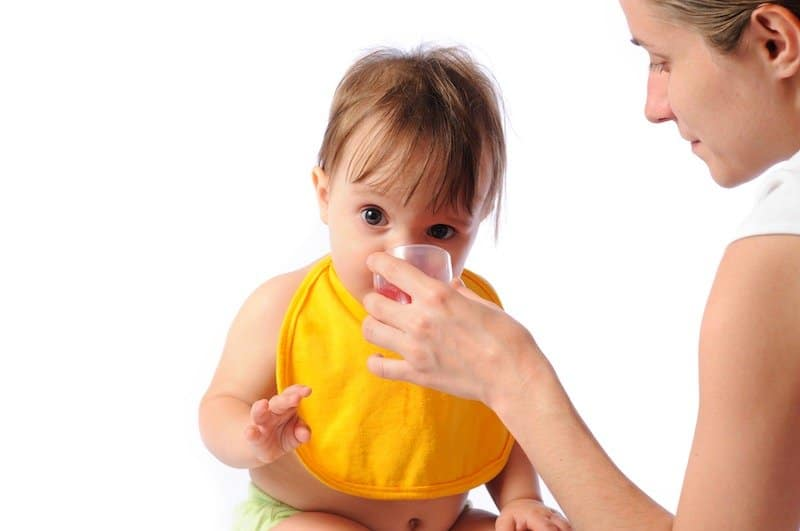 When should i start giving my baby vitamins