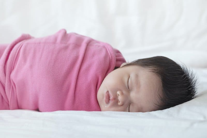 When should I stop swaddling my baby?
