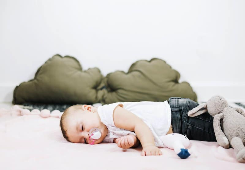 Baby dependent on pacifier to sleep