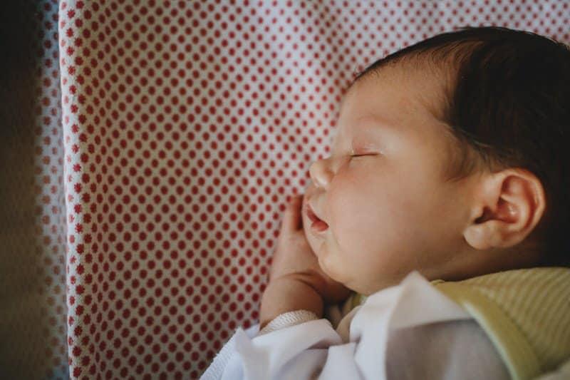 Can My Newborn Sleep on His Side Instead?