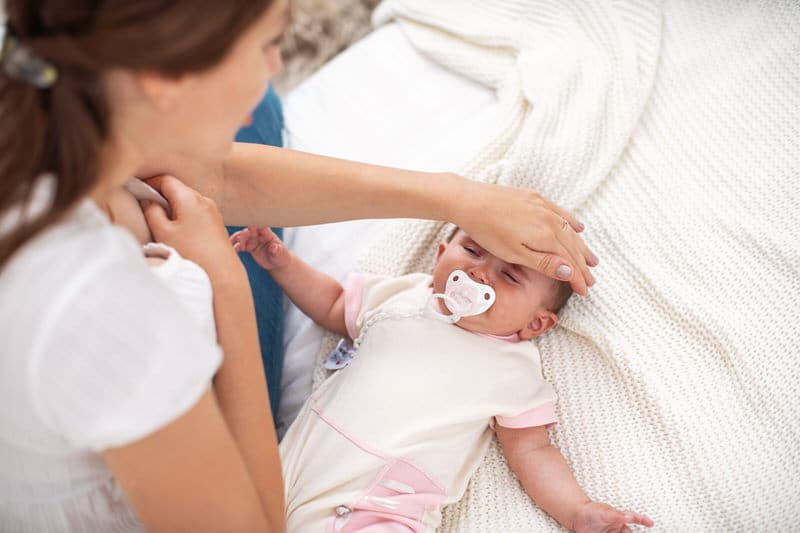How to Check a Newborn Baby's Temperature Without a Thermometer