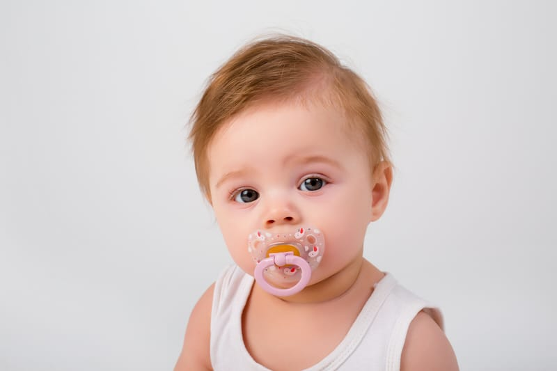Limit pacifier use to prevent overbite in toddlers