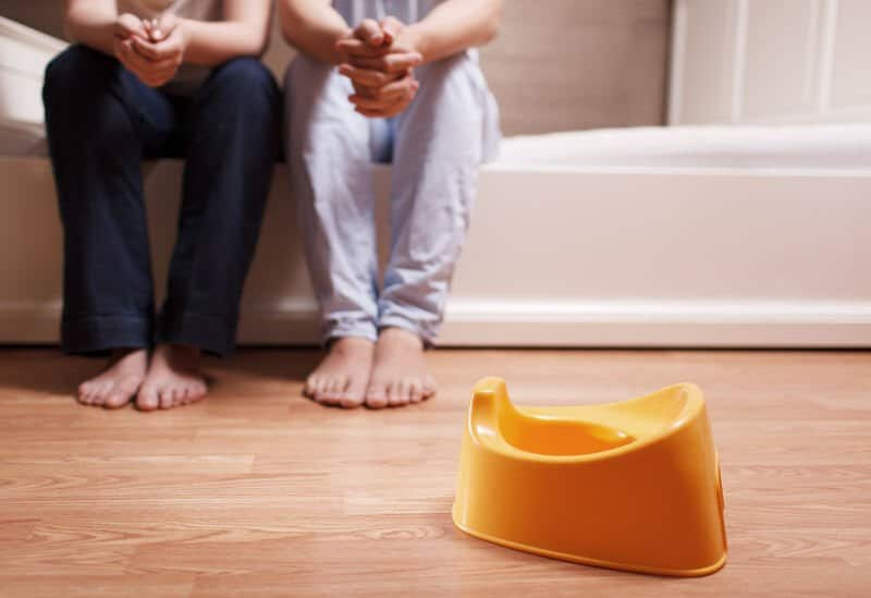 Tips on potty-accident prevention