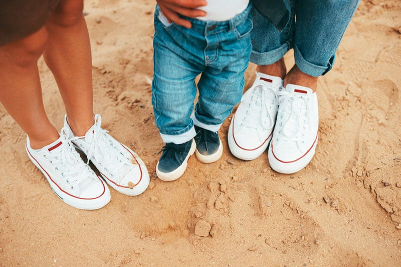 Your Baby's Shoe Size Changes Often