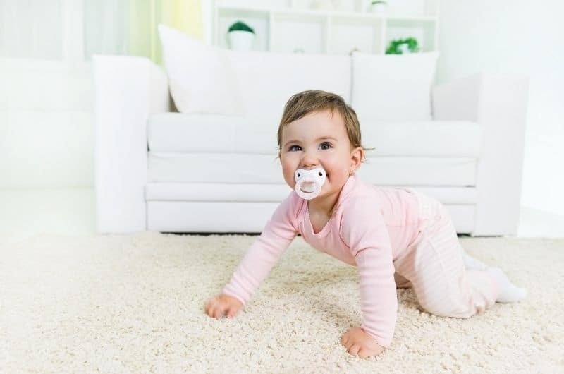 Baby pacifier labeling ideas