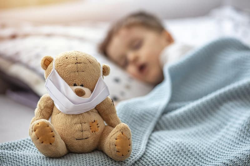 How to know your infant has a cold