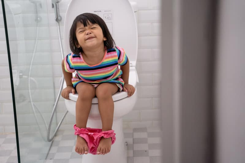 What To Do When Your Toddler Refuses To Poop On Potty