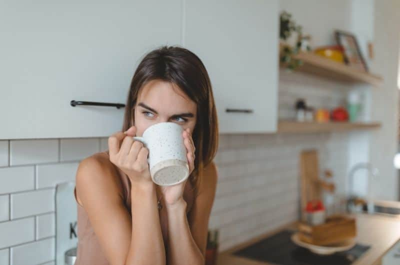 Caffeine causing breastfeeding mom to have a drop in milk supply
