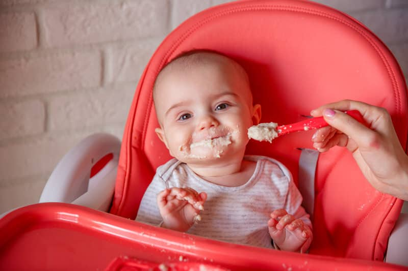 Can rice cereal be given to babies?