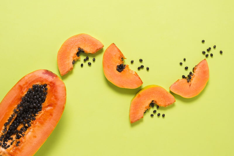 Papaya is an ancient remedy used to treat constipation, a great fruit to consider feeding your toddler when they're constipated.
