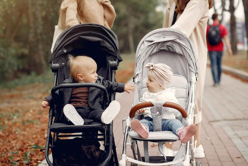 A baby stroller is a must-have item to travel with your baby conveniently.