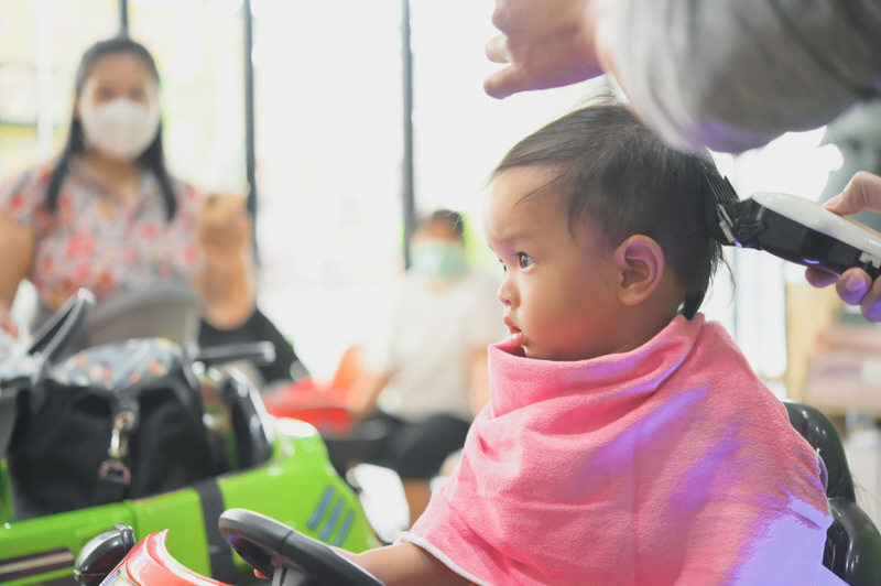 When Do You Take Your Son To Get His First Haircut?