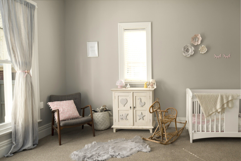 Nursery decoration ideas for twin boy and girl